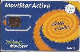 TARJETA GSM MOVISTAR - Phonecards