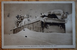 L'Ospizio Mauriziano Del Piccolo San Bernardo D'inverno - Petit Saint-Bernard - (n°9865) - Italie