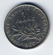 1 Franco 1960 - Farncia - France