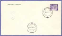 BER SC #9N134 1956 Schiller Theatre FDC 10-05-1956 - FDC: Covers