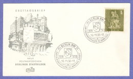 BER SC #9N135 1956 Monument, Frederick William FDC 11-10-1956 - FDC: Covers