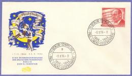 BER SC #9N142 1956 Paul Linke, Composer FDC 09-03-1956 - FDC: Covers