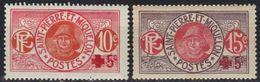 St Pierre Et Miquelon N° 105, 106 * Croix-rouge - St.Pierre & Miquelon