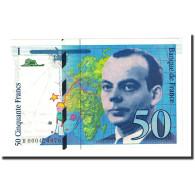 France, 50 Francs, 50 F 1992-1999 ''St Exupéry'', 1992, KM:157a, SPL - 1992-2000 Laatste Reeks