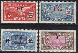 St Pierre Et Miquelon N° 123, 124, 125, 126 * - St.Pierre & Miquelon