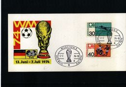 Germany 1974 World Cup In Germany Interesting Cover - Coppa Del Mondo