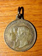 Médaille Arrivé De La Reine Victoria Et Du Prince Albert à Cherbourg Août 1858 - Napoléon III Bonaparte Et Eugénie - Royal / Of Nobility