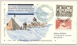 België - 1959 - Cover Van Belgische Zuidpoolexpeditie / Antarctic Expedition Naar Brussel - België