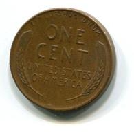 1957-D USA 1c Wheat Penny Coin - Émissions Fédérales