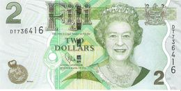 Fiji - Pick 109  - 2 Dollars 2011 - Unc - Figi