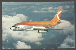 Boeing 737 De Canadian Pacific Airlines - CPAir- Ecrite 1970 - 1946-....: Moderne