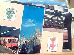 MILANO VEDUTE UNDERGROUND STATION NATION METRO METROPOLITANA TRENO TRAIN BAHN VB1981 GN20927 - Metro