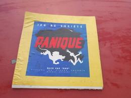 Carton  Jeux De Société  Panique  Edité Par ROG   Dessins De Pierre Lacroix - Group Games, Parlour Games