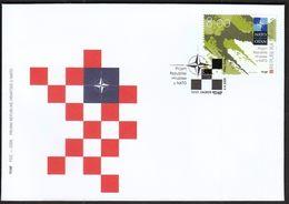 Croatia Zagreb 2009 / Croatian Admission To NATO / FDC - Kroatien