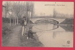 45 MONTCRESSON Pont Du Canal Pêcheurs - Autres Communes