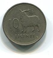 1979 Lesotho 10 Lisente Coin - Lesotho