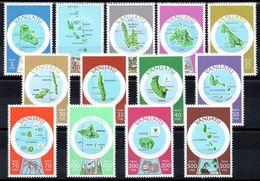 VANUATU - YT N° 583 à 595 - Neuf ** - MNH - Cote: 42,60 € - Vanuatu (1980-...)