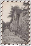 3AB1335 PARIS VIEUX MONTMARTRE MAISON HENRI IV RUE ST VINCENT 2 SCANS - Autres Monuments, édifices