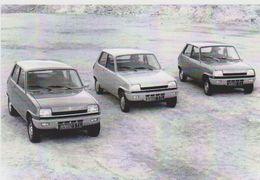 CARTE POSTALE RENAULT 5 TS/TL/L DE 1976 - 10X15 CM NEUF - Ansichtskarten