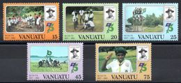 VANUATU - YT N° 657 à 661 - Neuf ** - MNH - Cote: 7,90 € - Vanuatu (1980-...)