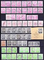 België Kleine Verzameling Postzegels Uit Boekjes G, Zeer Mooi Lot 3921 - Timbres