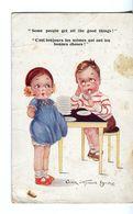 CPA - Carte Postale  - Belgique - Fantaisie - Petite Fille Et Garçon (CP230) - Belgique