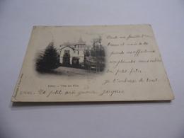 Cpa  Précurseur  Vittel  Villa Des Fées  1901 - Vittel Contrexeville