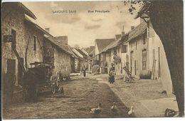 LAVOURS (Ain) Rue Principale - France