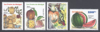 SENEGAL,2013,MNH, FRUIT, WATER MELONS, ETC, 4v - Fruit