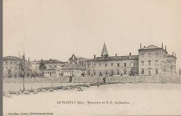 Le Plantay (ain) Monastère De N-D Des Dombes - France