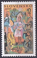 Slowakei Slovakia 1998 Organisationen Postwesen Europa CEPT Feste Feiertage Festival Feasts, Mi. 309 ** - Ungebraucht