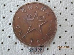 TANZANIA 1 Penny 1958  # 6 - Tanzania