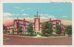 Illinois Joliet College Of St Francis 1947 Curteich - Joliet