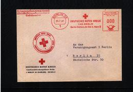 Germany / Deutschland  Berlin 1967 German Red Cross Interesting Cover - Berlin (West)