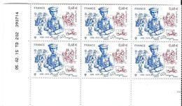 4936 - NICOLE MANGIN CD 05.02.15 6 Timbres - Ecken (Datum)