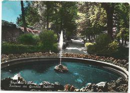 V1483 Zagarolo (Roma) - Fontana Dei Giardini Pubblici / Viaggiata 1968 - Altre Città