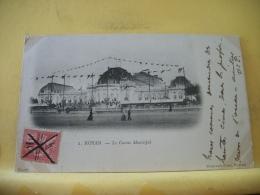 B16 6228 CPA 1901 - 17 ROYAN. LE CASINO MUNICIPAL - EDIT. WETTERWALD 2 (+DE 20000 CARTES MOINS 1 EURO) - Royan