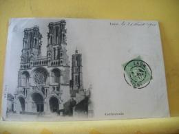 B16 6331 CPA 1900 - 02 LAON. CATHEDRALE - EDIT. B.F. PARIS (+DE 20000 CARTES MOINS 1 EURO) - Laon