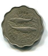 1966 Bahamas 10 Cent Coin - Bahamas