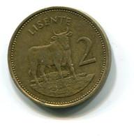1979 Lesotho 2 Lisente Coin - Lesotho