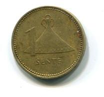 1985 Lesotho 1 Sente Coin - Lesotho