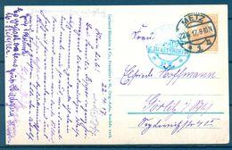 1917 , ALEMANIA , TARJETA POSTAL CIRCULADA ENTRE METZ Y GORLITZ , CENSURA - Cartas