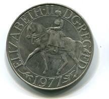 1977 Great Britain QEII Silver Jubilee Crown Coin - 1971-… : Monnaies Décimales