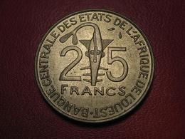 Afrique De L'Ouest - 25 Francs 1976 7736 - Andere - Afrika
