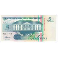 Billet, Surinam, 5 Gulden, 1998, 1998-02-10, KM:136b, NEUF - Surinam
