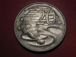 Australie - 20 Cents 1967 7829 - Monnaie Décimale (1966-...)