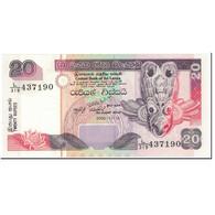 Billet, Sri Lanka, 20 Rupees, 2005, 2005-11-19, KM:109a, NEUF - Sri Lanka
