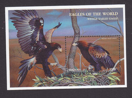 Tanzania, Scott #1710, Mint Never Hinged, Eagles, Issued 1998 - Tanzanie (1964-...)