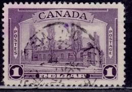 Canada, 1938, Chateau De Ramezay, $1, Sc#245, Used - Used Stamps