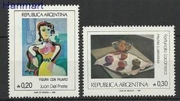 Argentina 1985 Mi 1763-1764 MNH ( ZS3 ARG1763-1764 ) - Obst & Früchte